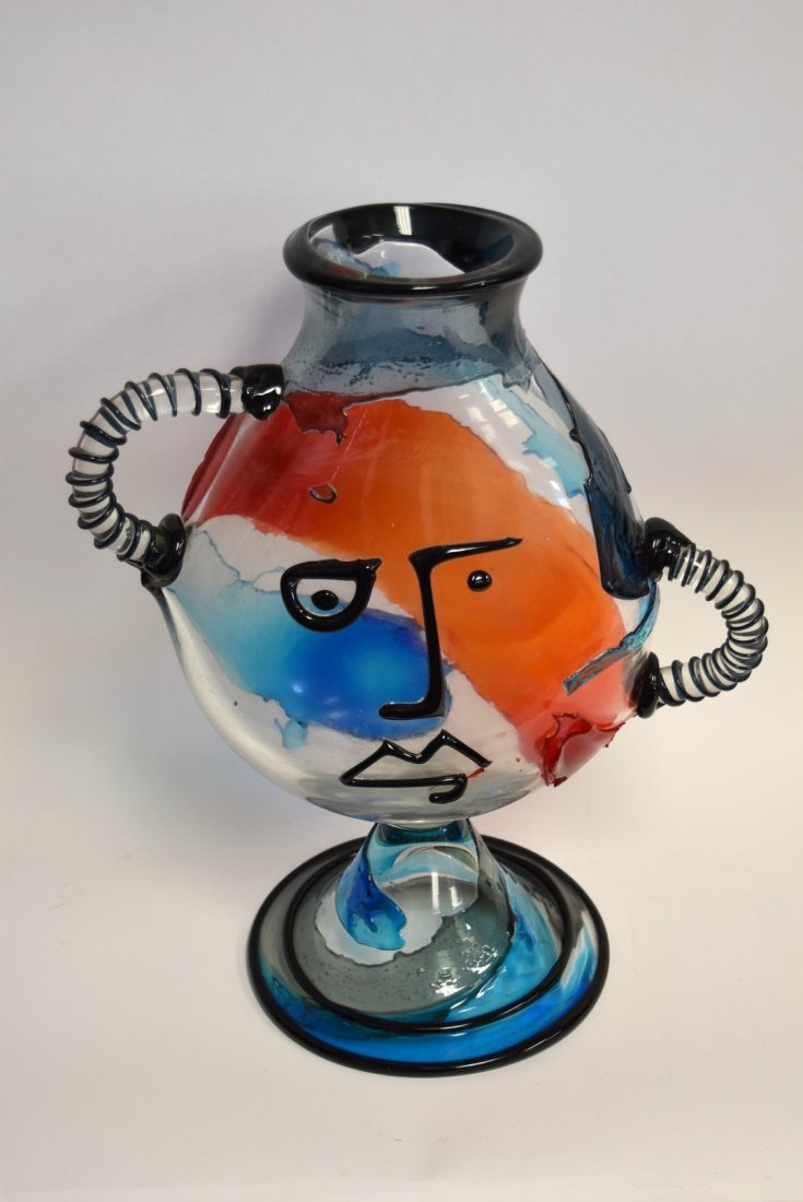 20thC. Murano Glass Sculpture - Hommage to Picasso - 3