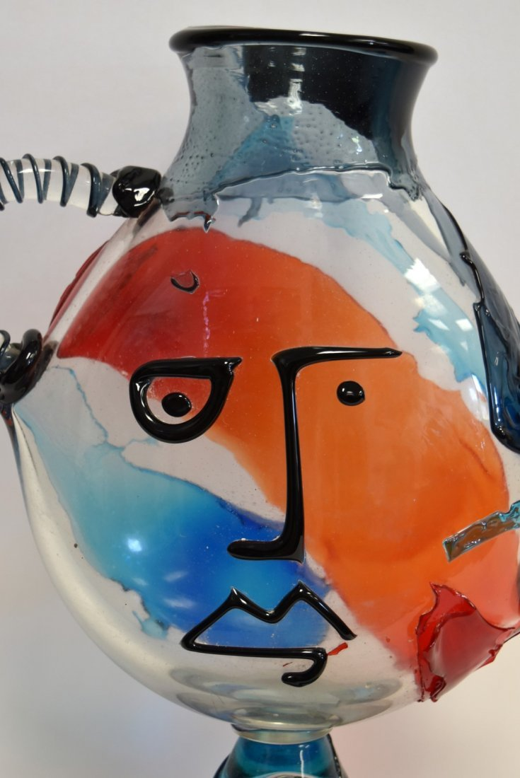 20thC. Murano Glass Sculpture - Hommage to Picasso - 4