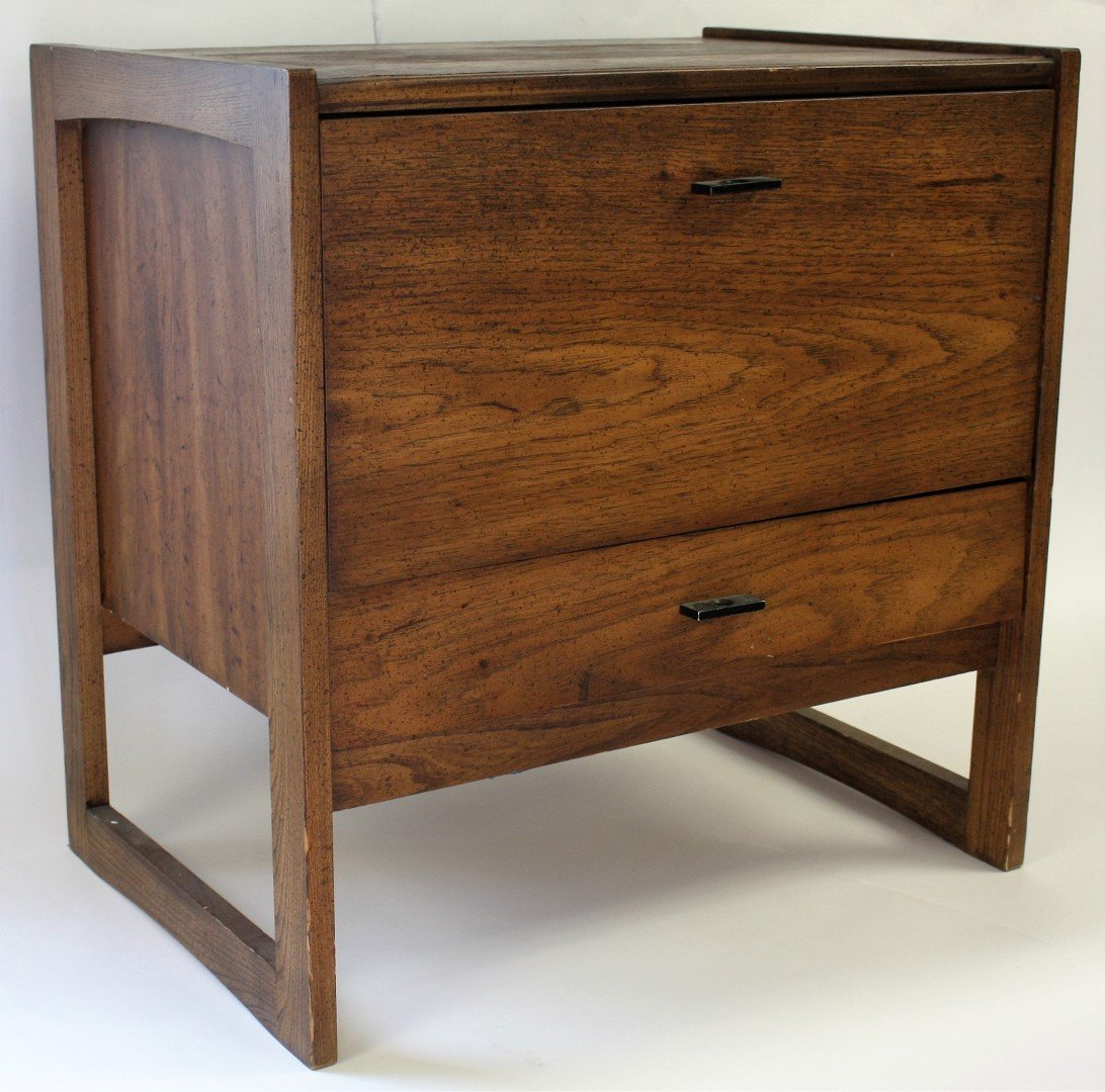 Mid Century Bed Stand - 2