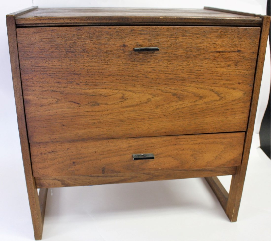 Mid Century Bed Stand - 3