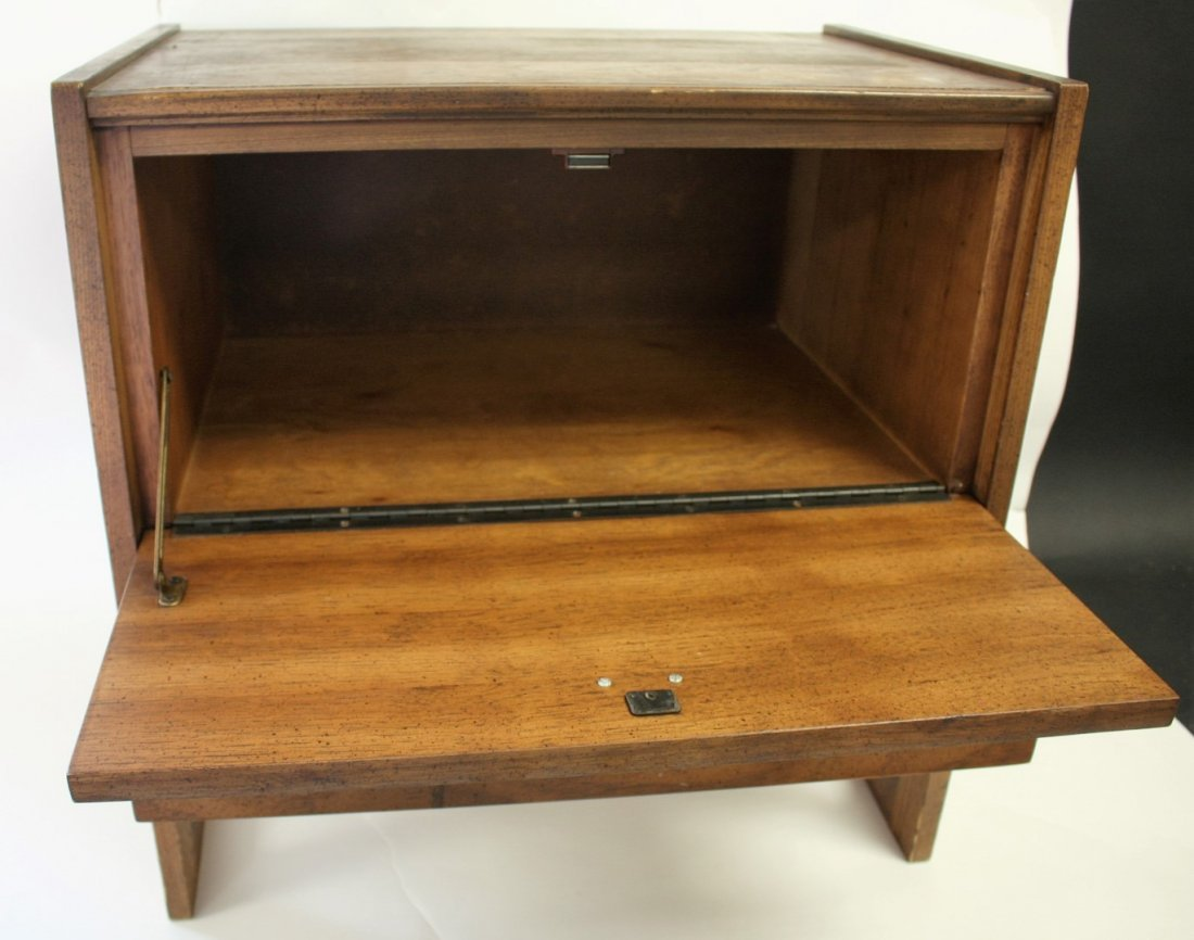 Mid Century Bed Stand - 5