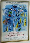Raoul Dufy Exhibition Poster