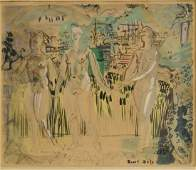 Raoul Dufy; 20thC. French Lithograph Signed