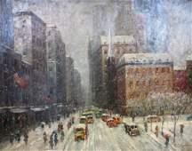 C.C. Cooper; 20thC. American Oil Painting Signed