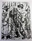 Marc Chagall; Framed Lithograph
