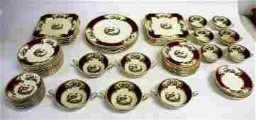 Myott Staffordshire Porcelain Dinner Service(68 pieces)