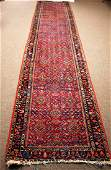 Handmade Persian Runner 13.5 x 2.9