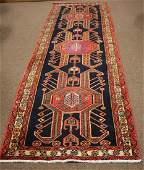 Handmade Persian Runner 37 x 108