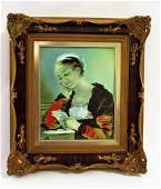 Rosenthal Hand Painted Porcelain Plaque