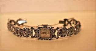Avia 17 Jewel .800 Silver Ladies Watch