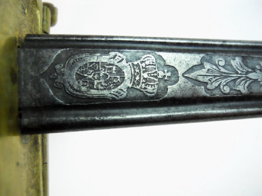 Spanish M1868 Infantry Officer Sword, 1869 Date - 6