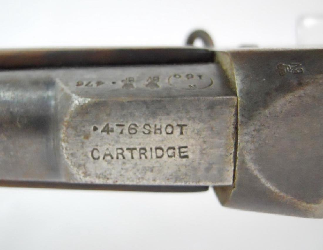 British Martini Henry Rifle, in .476 Shot - 6