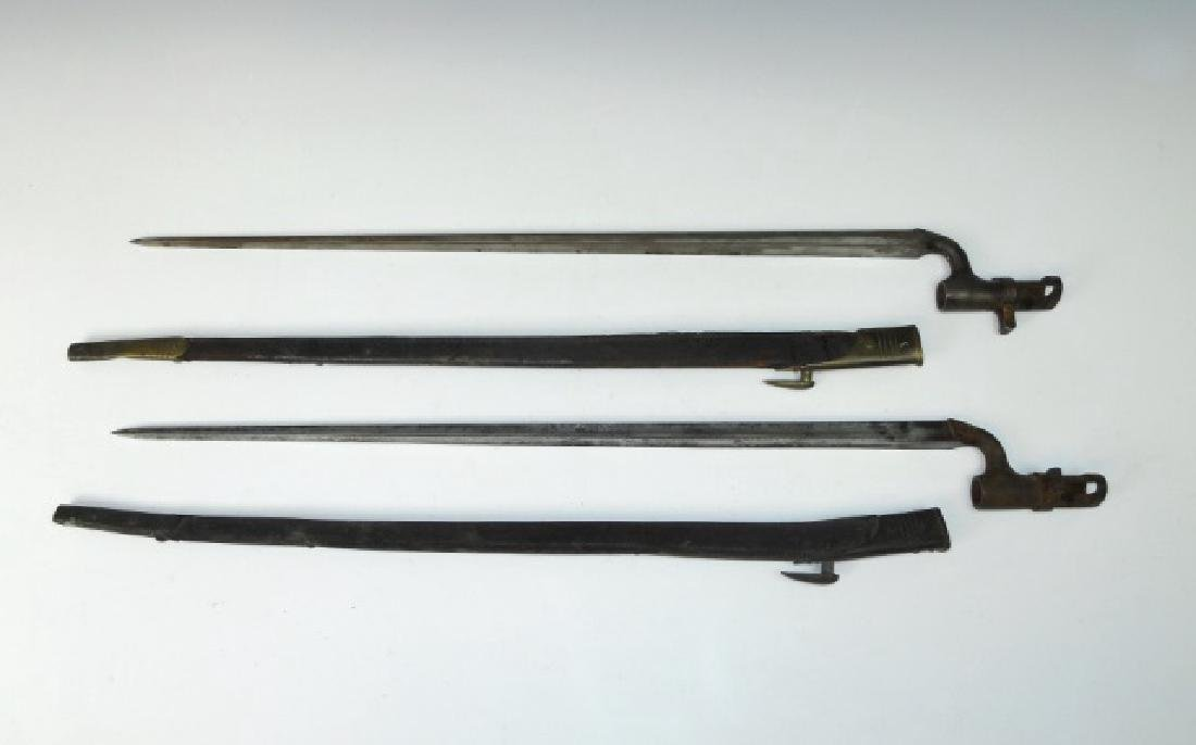 19th C. British and French Bayonets, (3pc) - 5