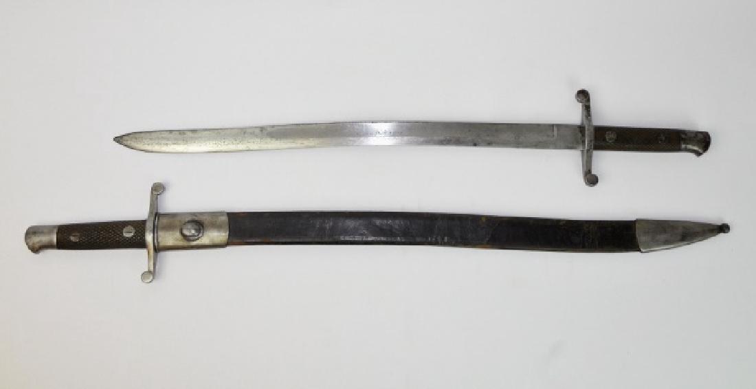 Spanish Artillery Swords, 1892-3,(2pc)