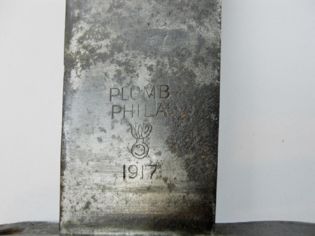 WW1 US Army M1909 Bolo Knife, Plumb, 1917 Date - 4