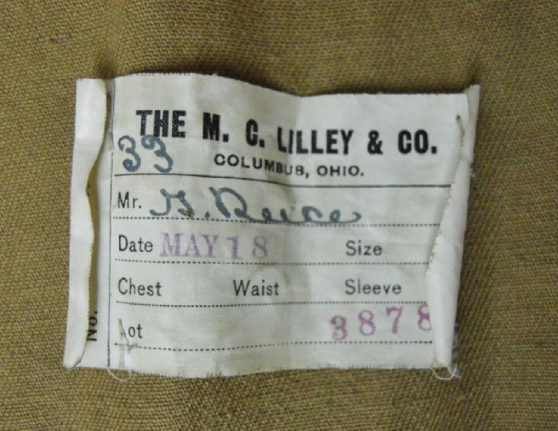 WW1 US Army M1911 Summer Uniform, M.C. Lilly & Co - 6
