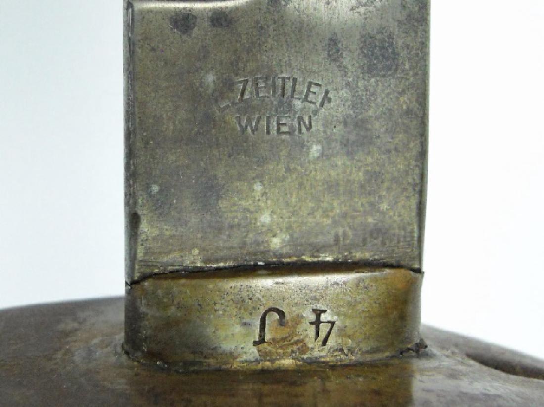 WW1 Austrian M1858 Cavalry Sword, L. Zeitler, WIEN - 5