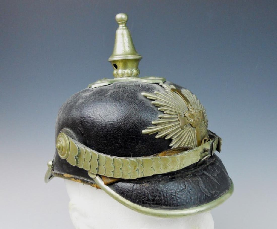 WW1 Era German Police Pickelhaube - 3