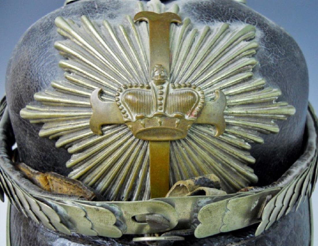 WW1 Era German Police Pickelhaube - 7