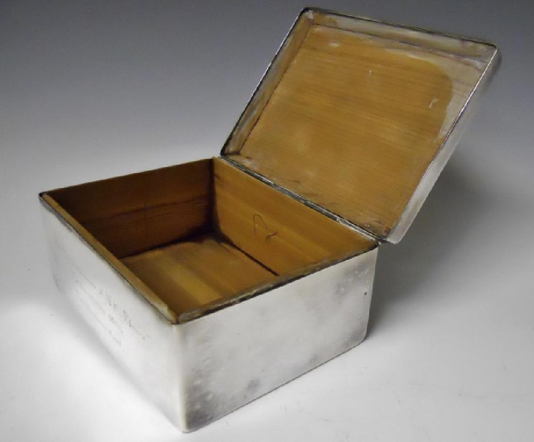 WW1 Era German Imperial Desk Top Cigar Box, 1906 - 3