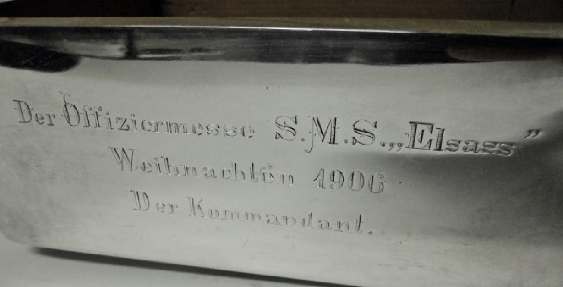 WW1 Era German Imperial Desk Top Cigar Box, 1906 - 4