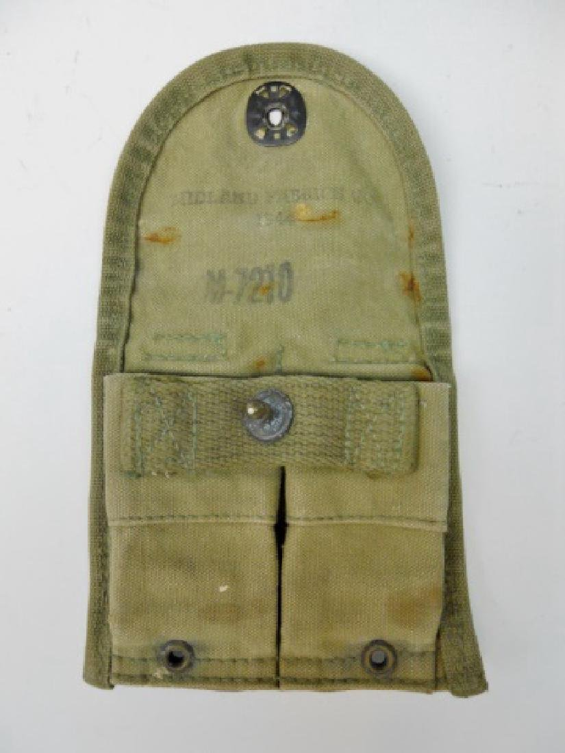 WW1-2 .45 Caliber Pouches with Two Clips, (5pc) - 3
