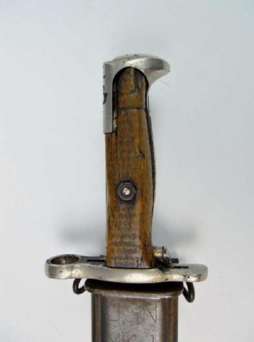 WW2 US Garand Bayonets, combat and parade, (2pc) - 6