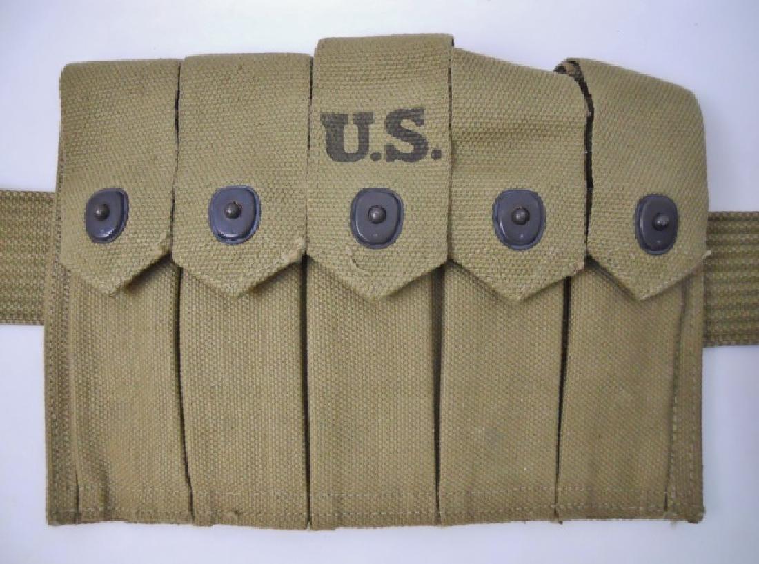 WW2 U.S. Web Belt Rig, (5pc) - 3
