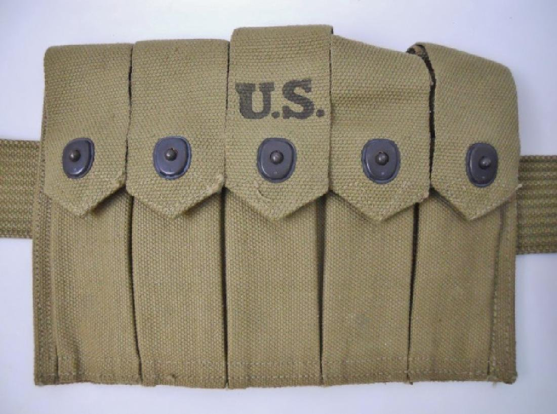 WW2 U.S. Web Belt Rig, (5pc) - 3