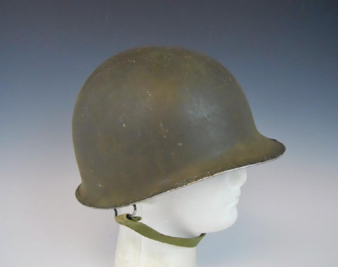 Collection of WW1-WW2 US Combat Helmets, (2pc)