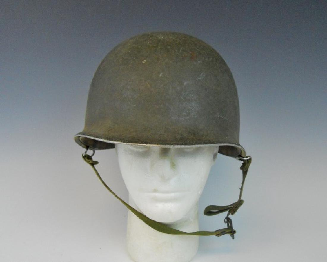 Collection of WW1-WW2 US Combat Helmets, (2pc) - 2