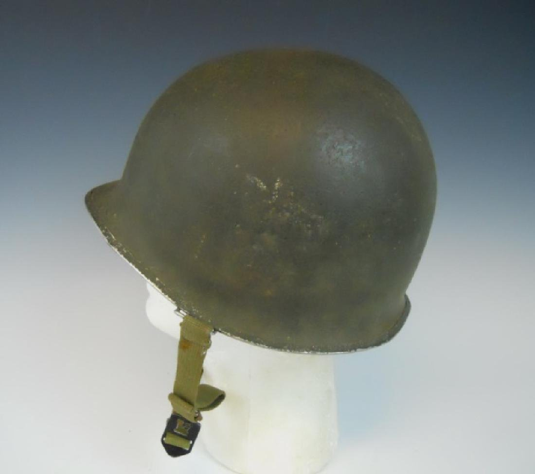 Collection of WW1-WW2 US Combat Helmets, (2pc) - 3
