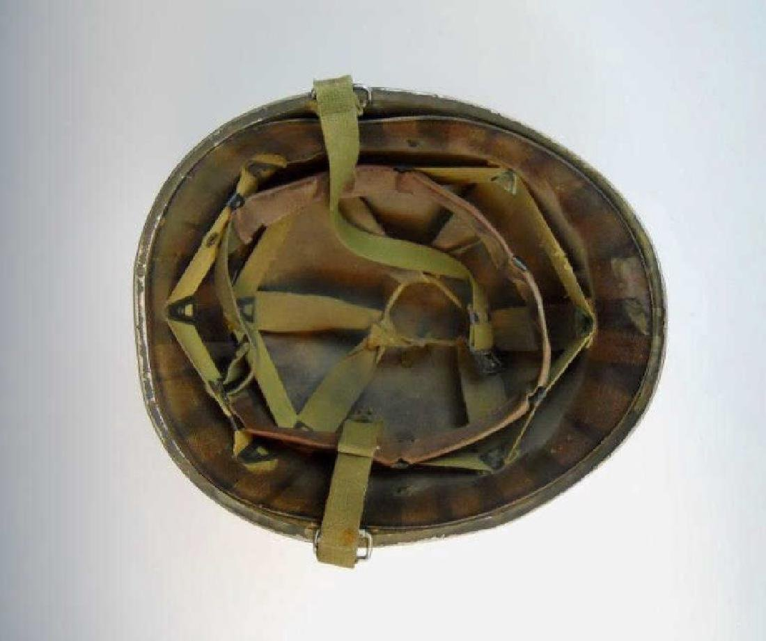 Collection of WW1-WW2 US Combat Helmets, (2pc) - 4