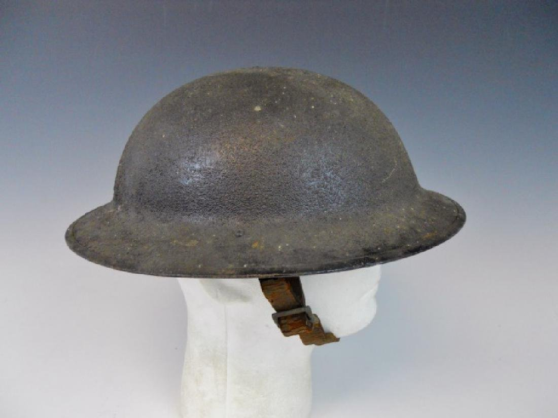 Collection of WW1-WW2 US Combat Helmets, (2pc) - 5
