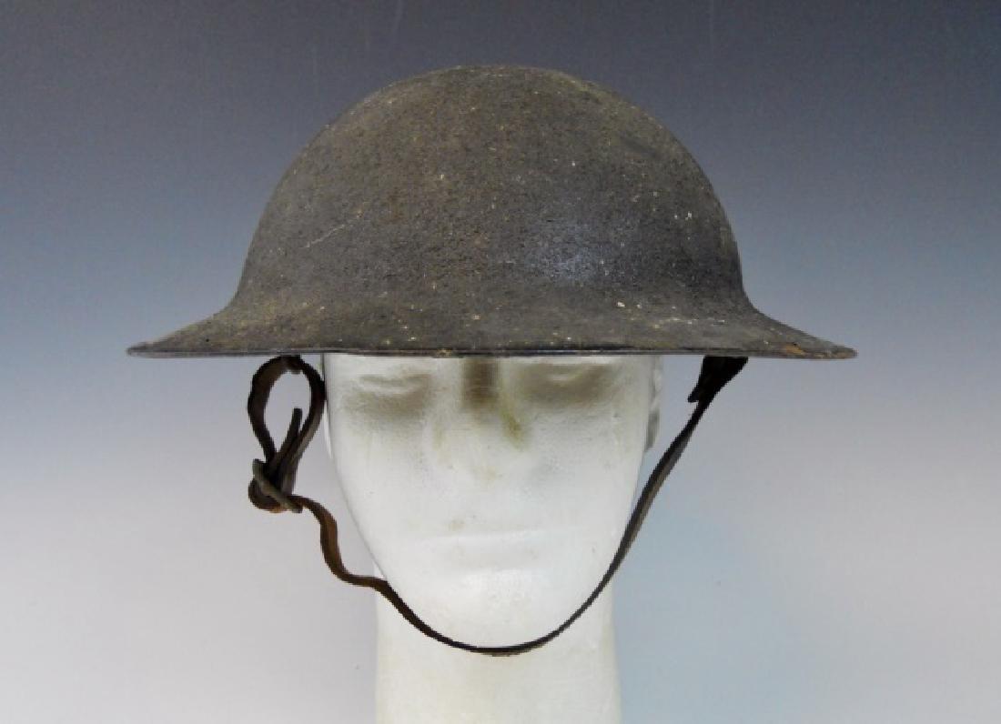 Collection of WW1-WW2 US Combat Helmets, (2pc) - 6