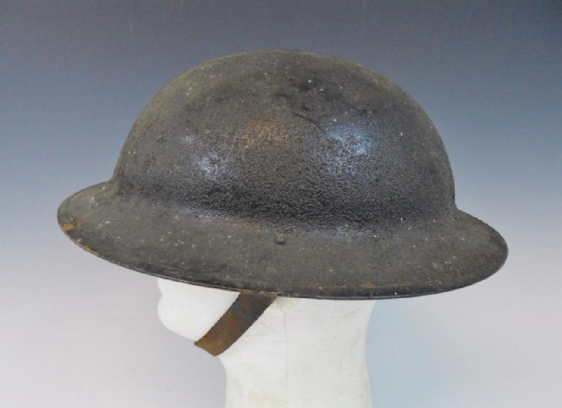 Collection of WW1-WW2 US Combat Helmets, (2pc) - 7
