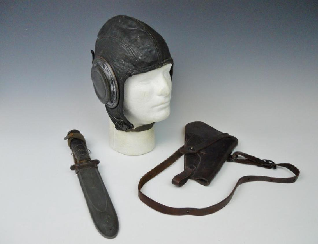 Collection of WW2 US Navy Items, (3pc)