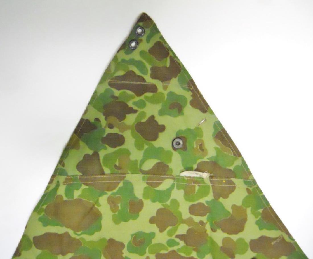 WW2 US Marines Camouflage Half Shelter - 2