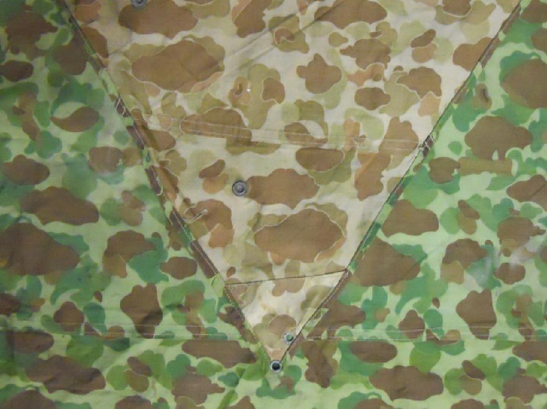 WW2 US Marines Camouflage Half Shelter - 3