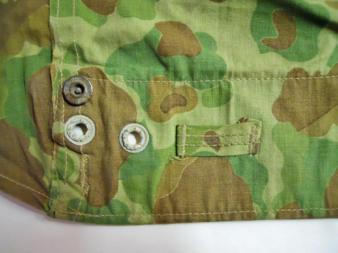 WW2 US Marines Camouflage Half Shelter - 4