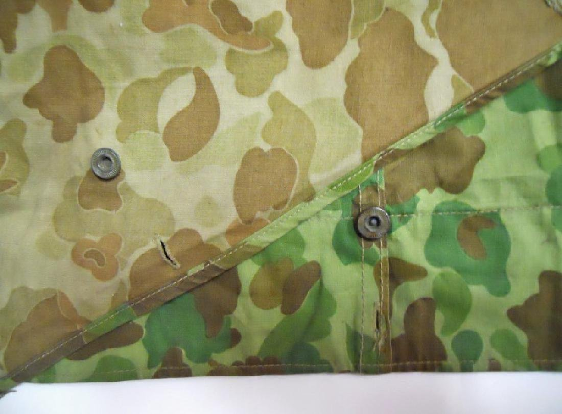 WW2 US Marines Camouflage Half Shelter - 5