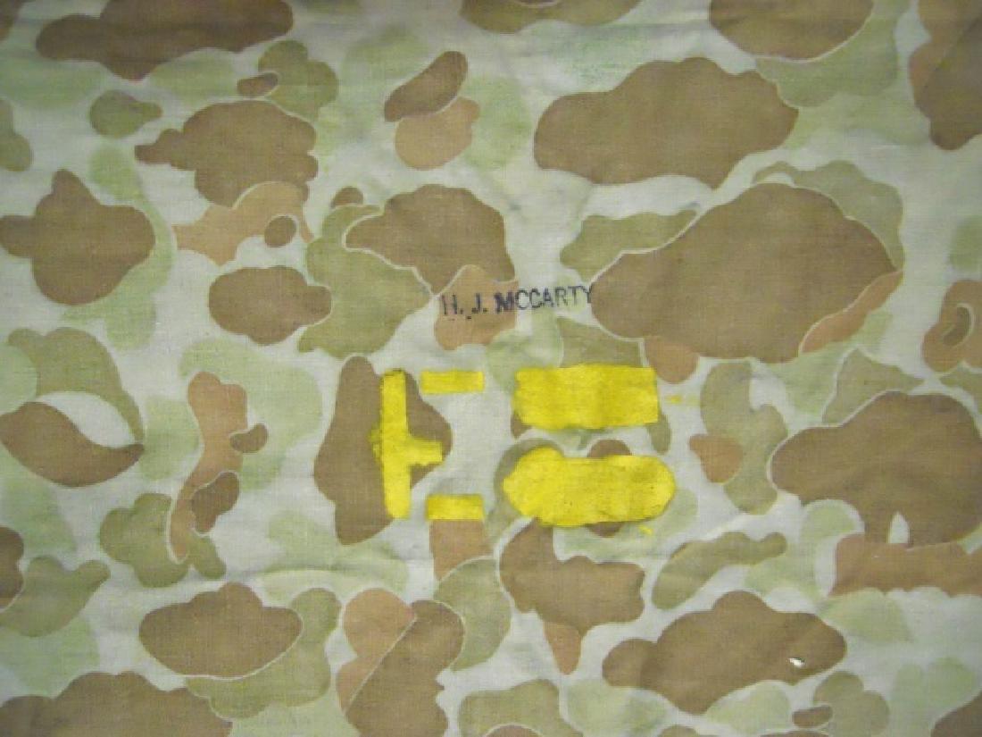 WW2 US Marines Camouflage Half Shelter - 6
