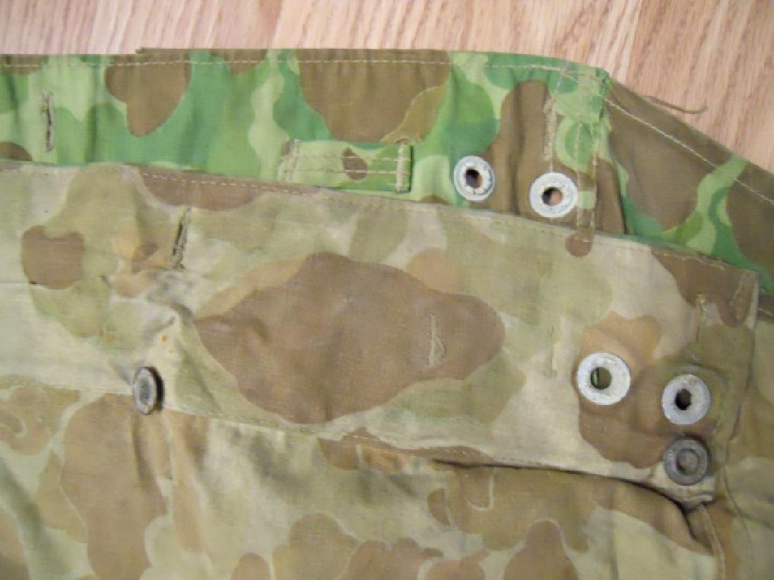 WW2 US Marines Camouflage Half Shelter - 7