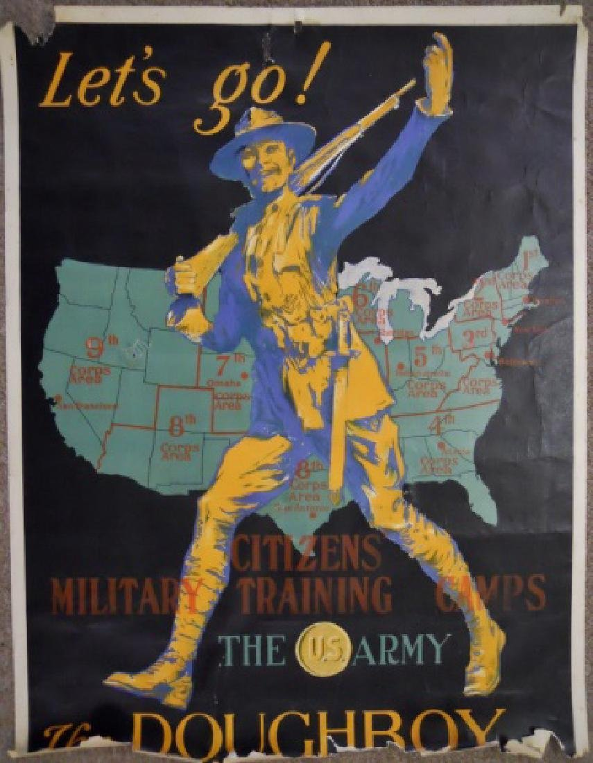 WW1 and WW2 Recruiting, Bond Drive Posters, (2pc) - 3