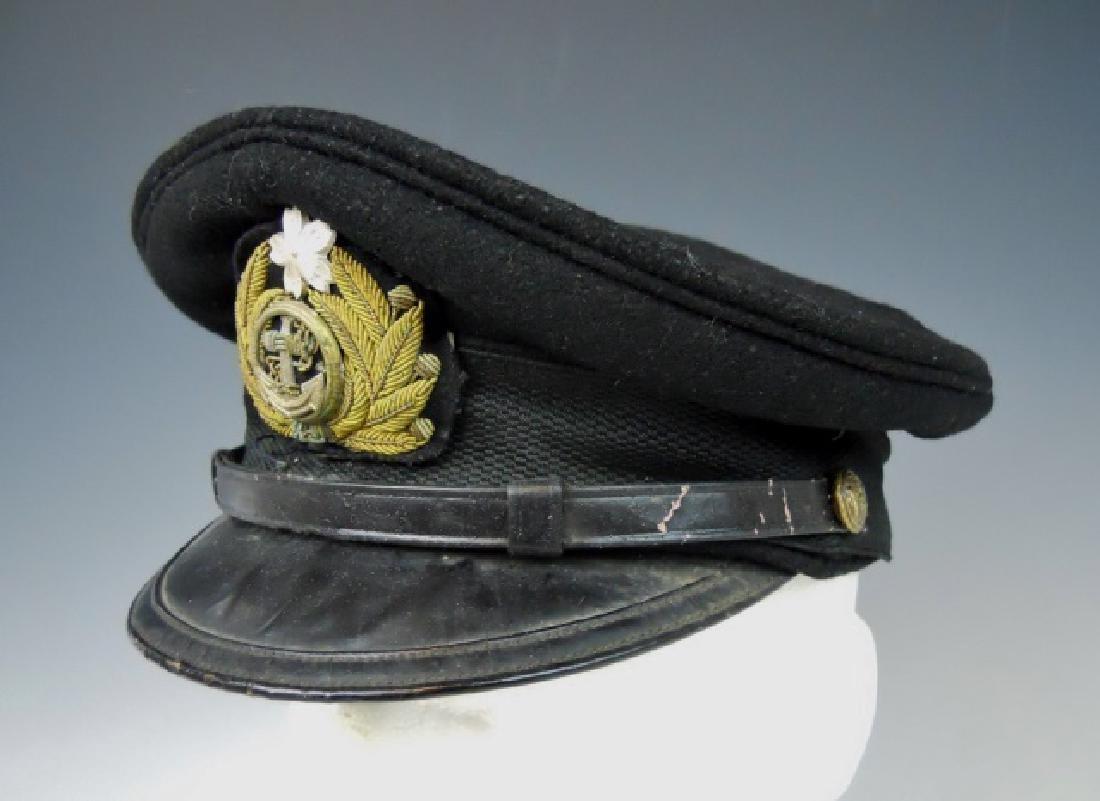 WW2 Japanese M1905 Imperial Navy Officer Visor Cap