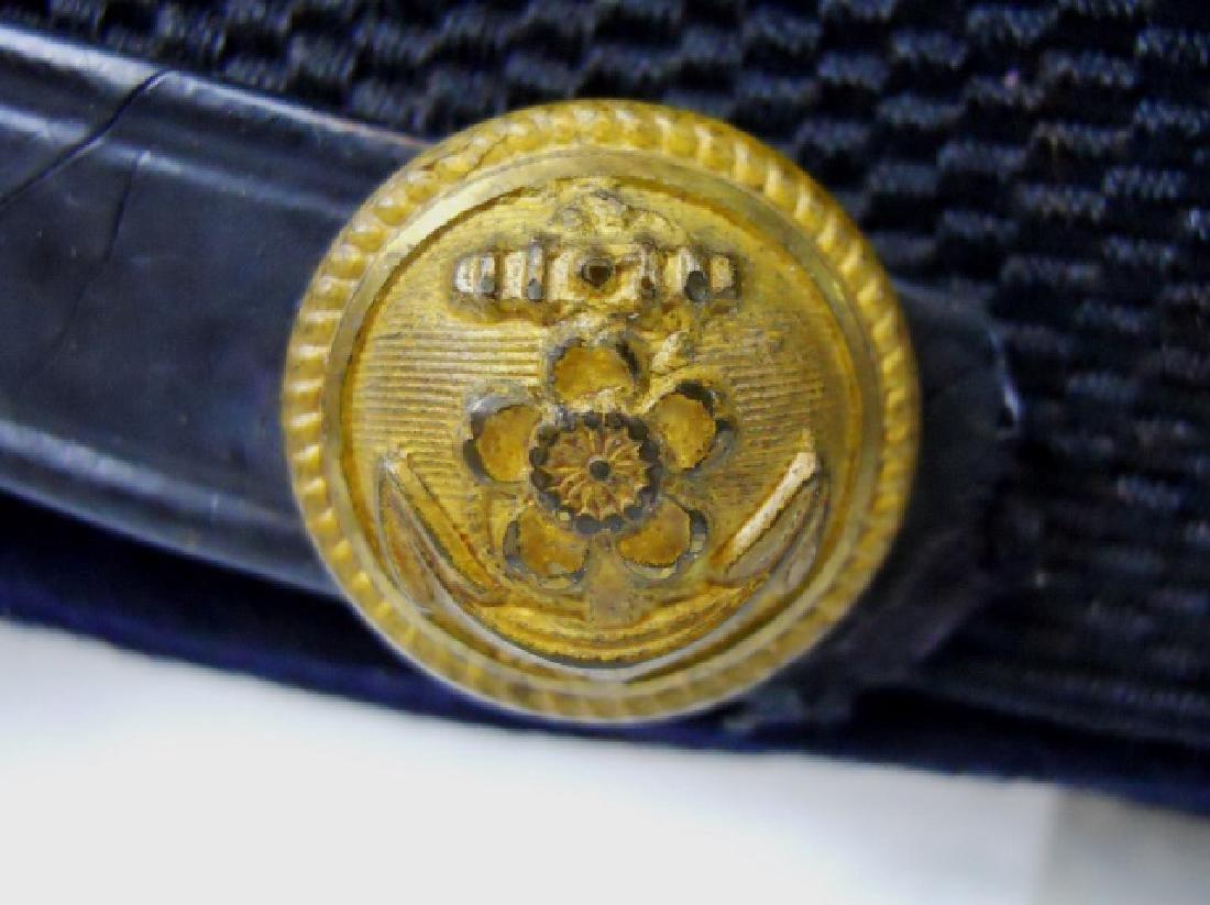 WW2 Japanese M1905 Imperial Navy Officer Visor Cap - 5