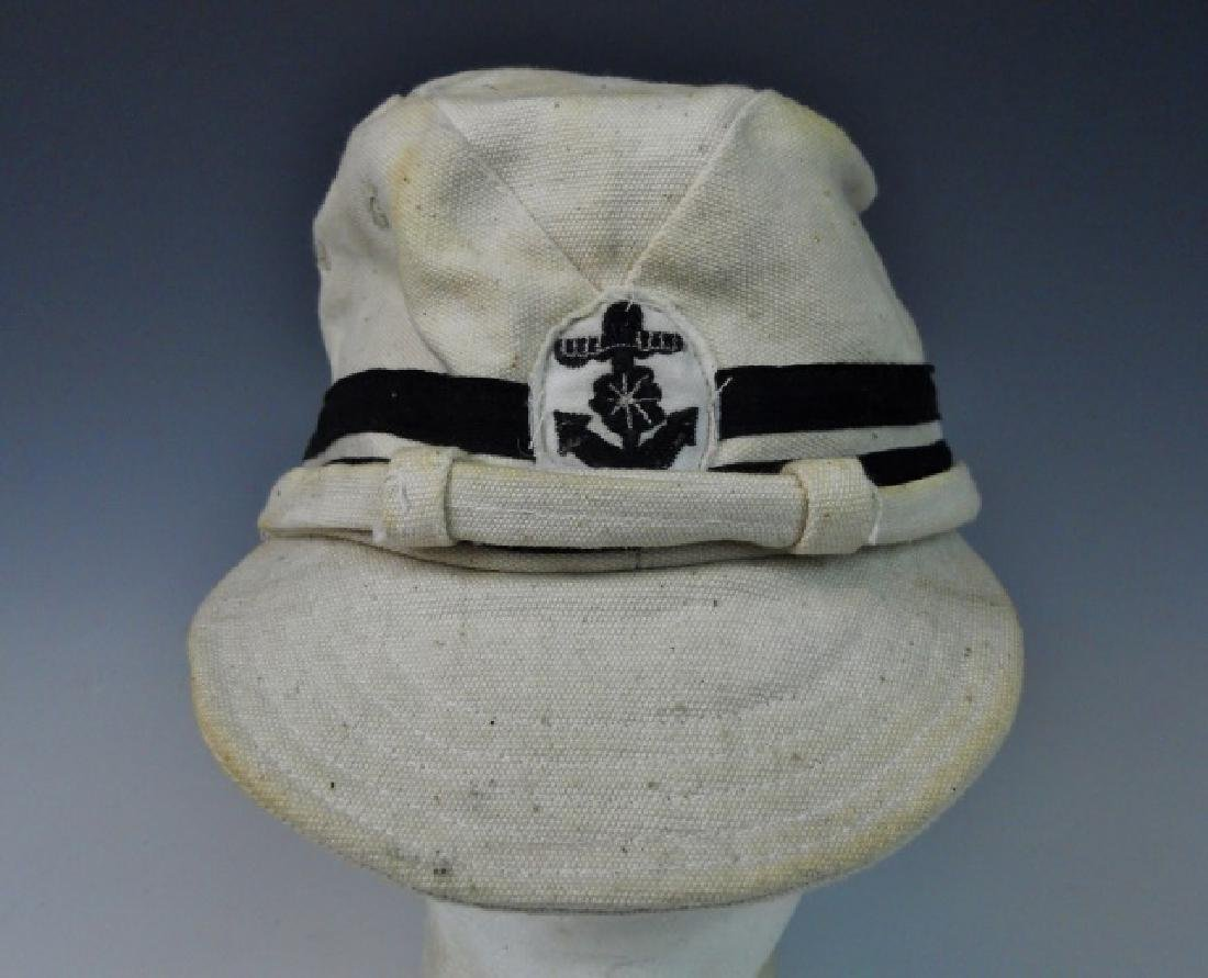 WW2 Japanese Imperial Navy NCO Summer Cotton Cap