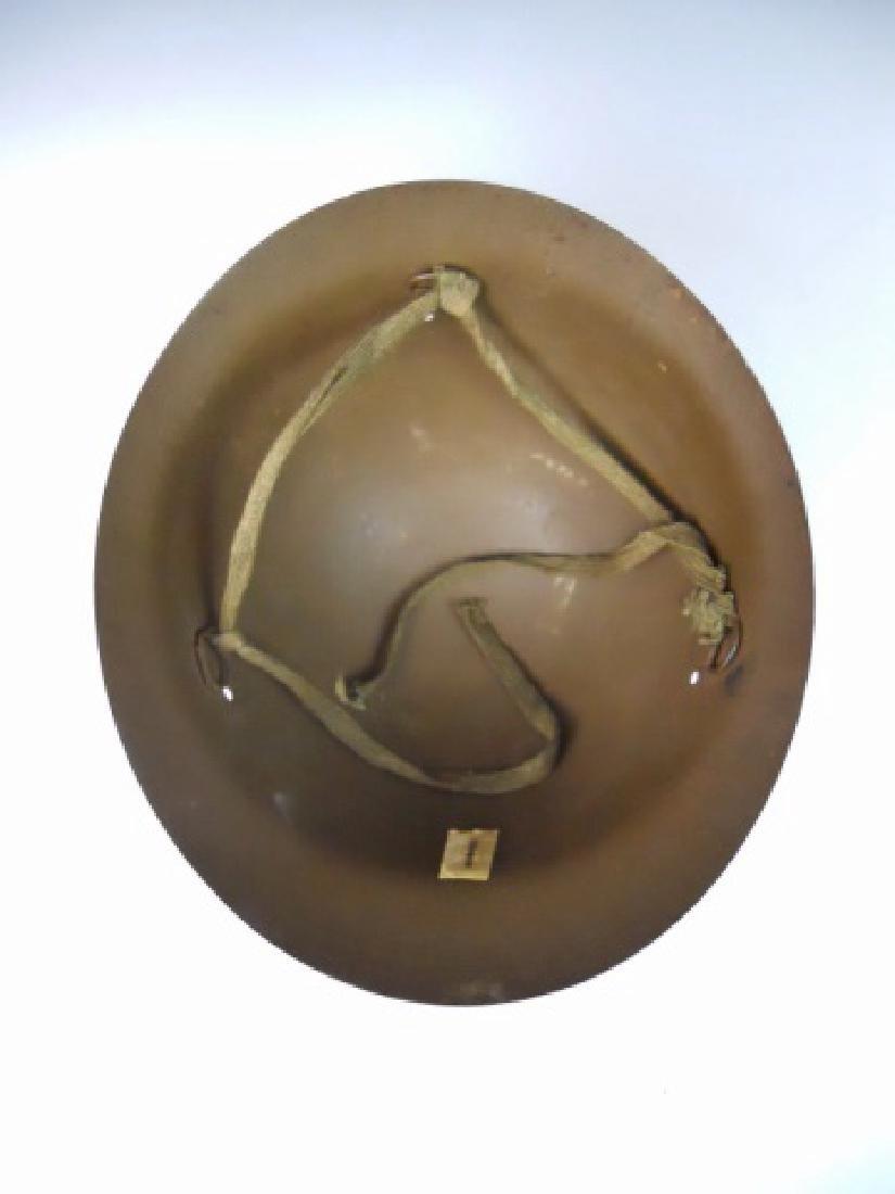 WW2 Japanese Type 90 Combat Helmet - 4
