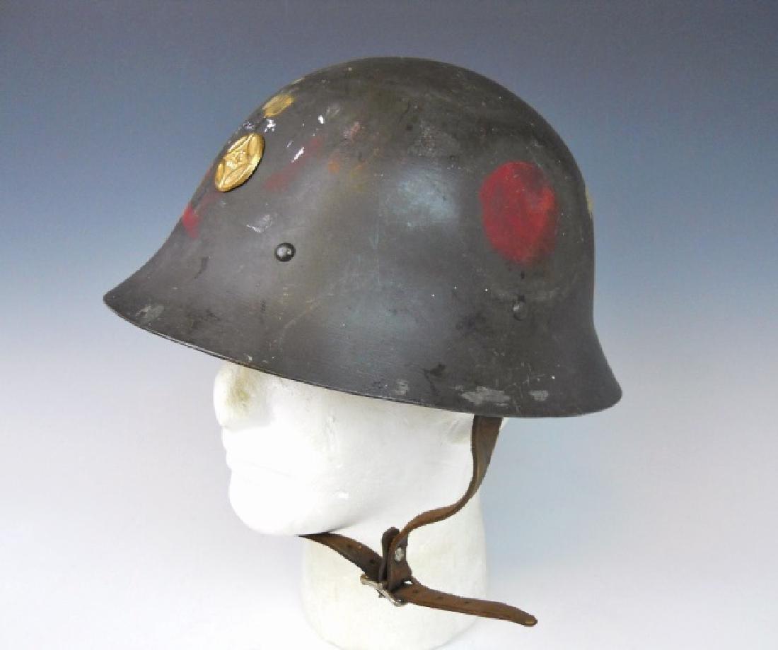 WW2 Japanese Type 90 Combat Helmet - 2