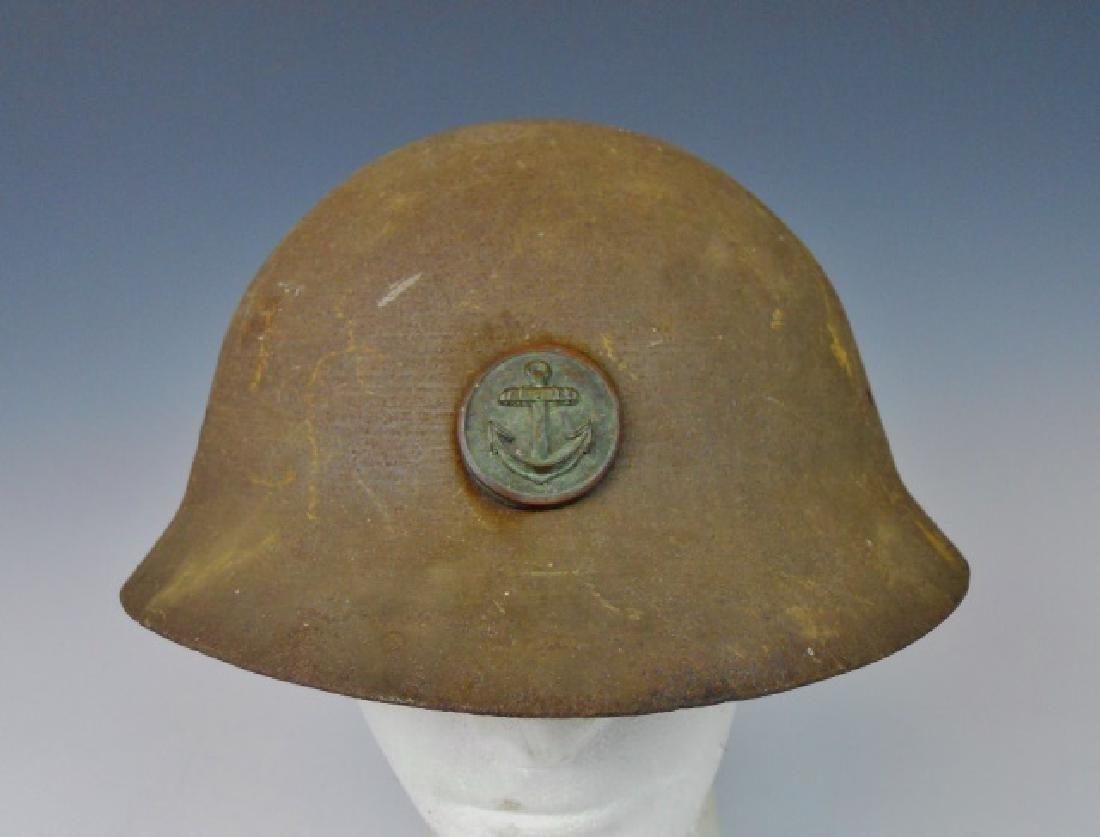 WW2 Japanese Type 90 Navy Landing Forces Helmet
